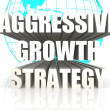 Aggressive Growth Strategy — Stock Photo