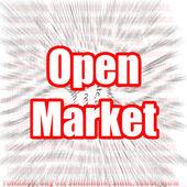 Open Market — Stock Photo