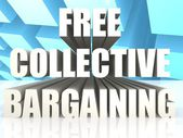 Free Collective Bargaining — Stock Photo
