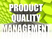 Product quality management — Stockfoto