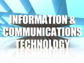 Information and Communications Technology — 图库照片