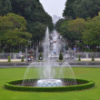 Stock Photo: Fountain in front of Reunification palace, Vietnam