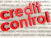 Credit Control — Stock Photo