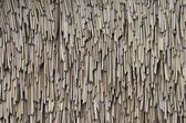 Dried leaf roof — Stock Photo
