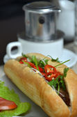 Vietnamese Sandwich — Stock Photo