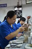 Handicraft factory in Vietnam — Stock Photo