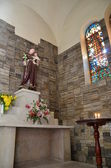Inside of Notre Dame church of Vietnam — Stock Photo