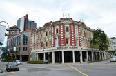 Vanguard building, Singapore — Stock Photo