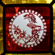 Ancient Chinese glass art — Stock Photo