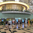 Stock Photo: Departure hall of Changi Airport, Singapore