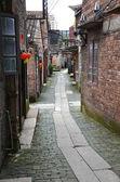 Vieille rue du village de chine — Photo