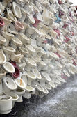 Wall of toilet bowl — Foto de Stock