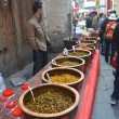 Street food seller in China — Stock Photo #34996737
