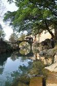 çince köyde eski: guangxi toplayan — Stok fotoğraf