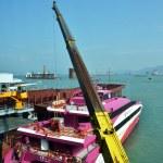 Ferry to Macau — Stock Photo
