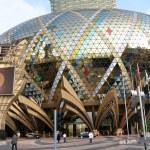 Exterior of Macau famous casino — Stock Photo #35090919