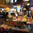 Stock Photo: Fruit stall on street of Hong Kong