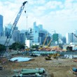 Construction site in Hong Kong — Stock Photo #35092279