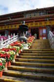 Chinese temple in Hong Kong — Stockfoto