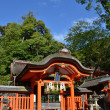 Japanese temple in Kyoto — Stockfoto
