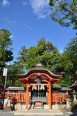 Japanese temple in Kyoto — Stockfoto