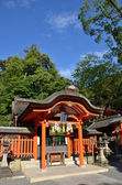 Japanese temple in Kyoto — Stock Photo