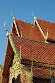 Храм в Чианг Май, Таиланд — Стоковое фото