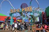 Pacific Park Santa Monica — Stock Photo