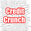 credit crunch — Stock Photo