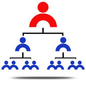 Management rank — Stock Photo
