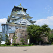 Osaka Castle is a Japanese castle in Osaka, Japan — Foto de Stock