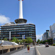 Kyoto Tower is an observation tower located in Kyoto, Japan. — Stock Photo