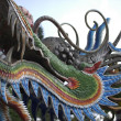 Stock Photo: Chinese dragon on temple