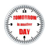 Tomorrow is another day — Stock Photo