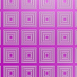 Purple square pattern — Stock Photo