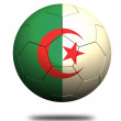 Algeria soccer — Stock Photo