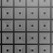 Black square pattern — Stock Photo