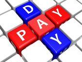 ödeme gün — Stok fotoğraf