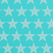 Blue star pattern — Stock Photo