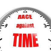 Race against time — Stock Photo