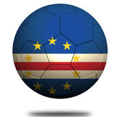 Cape Verde soccer — Stock Photo