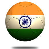 India soccer — Stock Photo