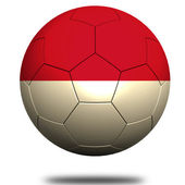 Indonesia soccer — Stock Photo