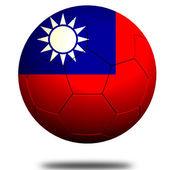 Piłka nożna Chińskiej Republiki Ludowej — Zdjęcie stockowe