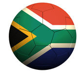 South Africa soccer — Stock Photo