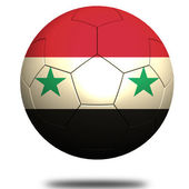 Syria soccer — Stock Photo