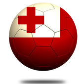Tonga soccer — Stock Photo