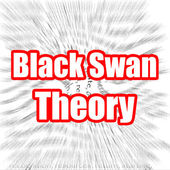 Black Swan Theory — Stock Photo