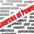 Sources of Power — Stockfoto #37776203