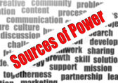 Sources of Power — Stock Photo